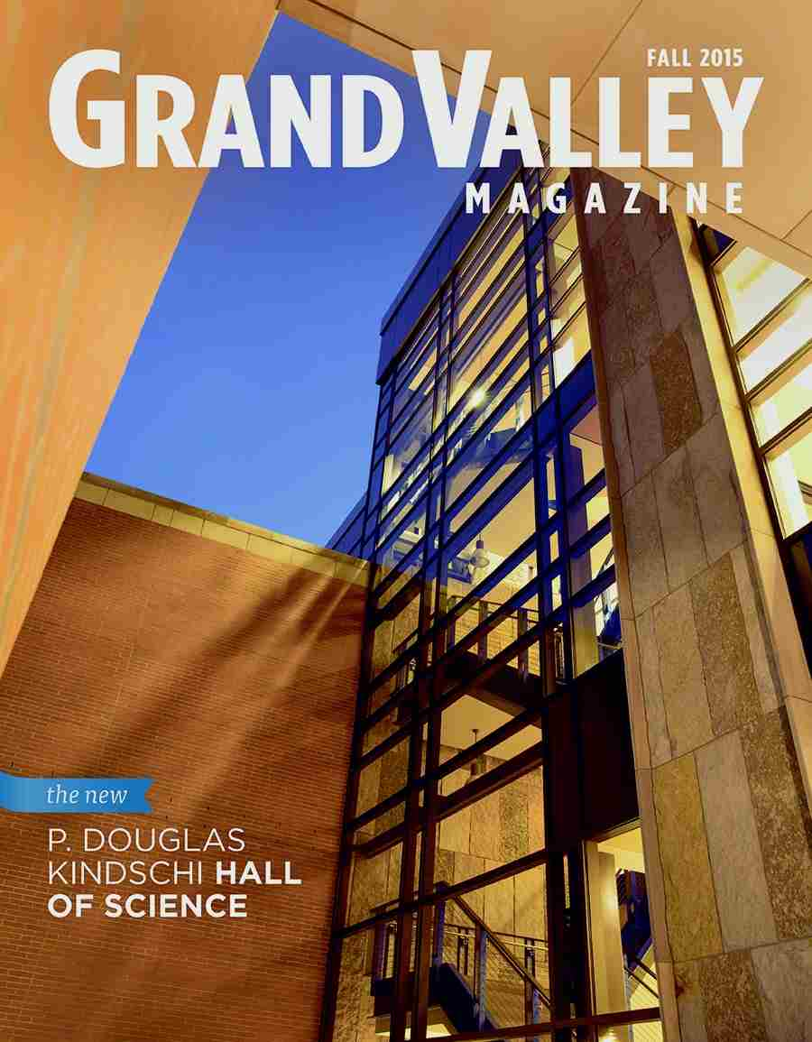 Cover of fall 2015 issue